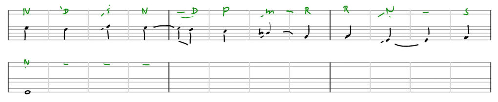 Raag-Shuddh-Sarang-Ektaal-transkription-R.KULKARNI-2-5