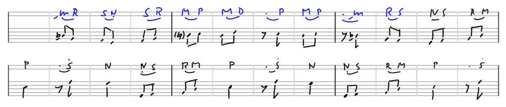 Raag-Shuddh-Sarang-Ektaal-transkription-R.KULKARNI-3-5