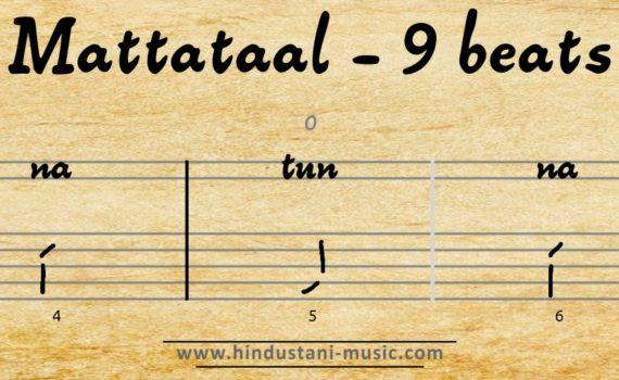 9 beats tala Mattataal (Mattataal) 1